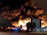 Kebakaran Besar di Rouen Perancis, Sekolah Sampai Diliburkan