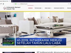 H1-2019, Intikeramik Alamasri Bukukan Rugi