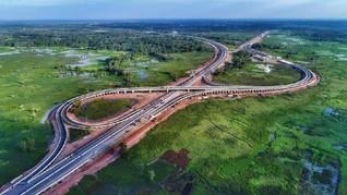Jalan Tol Terbanggi Besar-Kayu Agung Siap Diresmikan Jokowi