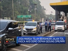 Udah Lancar Nih! Tol Dalam Kota Dibuka Lagi Pasca-Demo