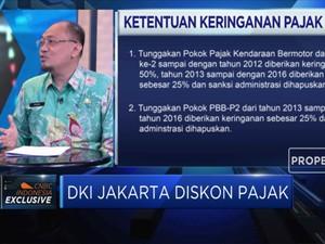 DKI Jakarta Tebar Diskon Pajak, Ini Rinciannya