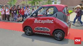 Mobil Listrik Wuling Bisa Jalan Sendiri Tanpa Sopir