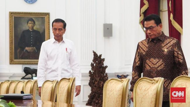Jokowi Terima Sejumlah Tamu Negara Jelang Pelantikan Presiden