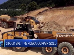 Stock Split Merdeka Copper Gold Disetujui RUPS