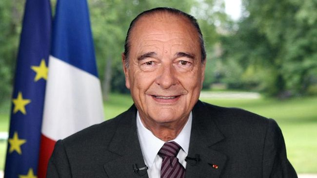Mantan Presiden Prancis Jacques Chirac Tutup Usia