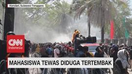 VIDEO: Aksi Massa Rusuh, 1 Mahasiswa Tewas Diduga Tertembak
