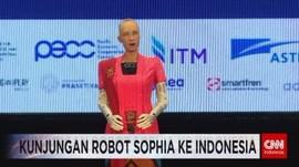 VIDEO: Robot Sophia Berkunjung ke Indonesia