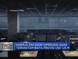 Kinerja Ericsson Terganjal Biaya Provisi