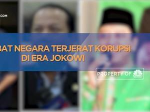 Pejabat Negara Terjerat Korupsi di Era Jokowi