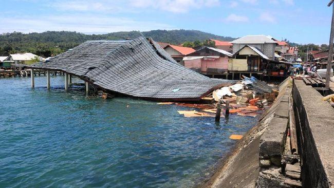 Korban Meninggal Gempa Ambon Meningkat Jadi 20 Orang