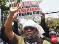 Ribuan Tukang Gigi Geruduk DPRD Jabar Tolak Pasal 276 RKUHP