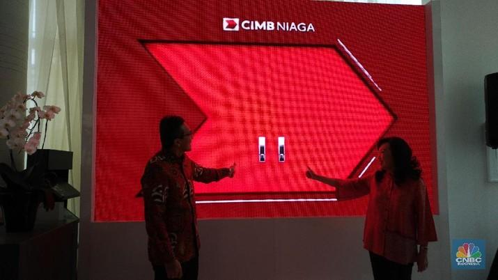 PT Bank CIMB Niaga Tbk (BNGA) meresmikan Digital Lounge @Home di Kemang Jakarta, Kamis (26/9/2019).