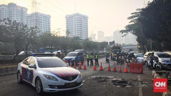 Antisipasi Demo di DPR, Polisi Siapkan Rekayasa Lalu Lintas