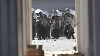 Eks Kasat Reskrim Akui Lepaskan Tembakan saat Demo di Kendari