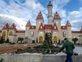 FOTO: Pembangunan Taman Hiburan Raksasa di Rusia