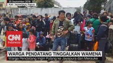 VIDEO: Pasca-Kerusuhan, Warga Pendatang Tinggalkan Wamena
