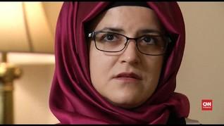 VIDEO: Tunangan Khashoggi Tuntut Keadilan ke Arab Saudi