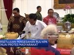 Presiden Jokowi Buka Peluang Penerbitan Perppu KPK