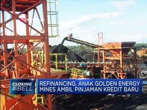 Golden Energy Raih Kucuran Kredit USD 32 Juta