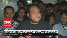 VIDEO: Berstatus Tersangka, Dandhy Laksono Dipulangkan
