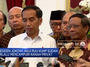 Presiden Jokowi: RUU KUHP Terlalu Mencampuri Ranah Privasi