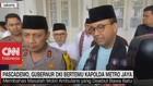VIDEO: Pascademo, Gubernur DKI Bertemu Kapolda Metro Jaya