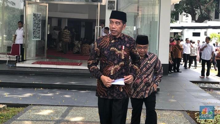 Presiden Joko Widodo (Jokowi) menyampaikan belasungkawa atas korban meninggal