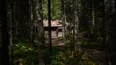 Kabin inilah yang menjadi replika lokasi kelahiran pemimpin Korut Kim Jong Il. Kabin ini disebut sebagai