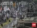 Massa Aksi Mujahid 212 Sudah Membubarkan Diri