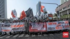 Aksi Mujahid 212: Tolak RKUHP dan Tuntut Jokowi Mundur