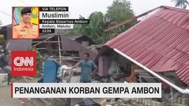 VIDEO: Penanganan Korban Gempa Ambon