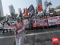 Aksi Mujahid 212, Ruas Jalan di Sekeliling Istana Ditutup