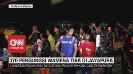 VIDEO: 170 Pengungsi Wamena Tiba di Jayapura