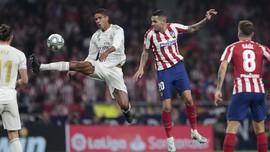 Hasil Liga Spanyol: Atletico Madrid vs Real Madrid Imbang