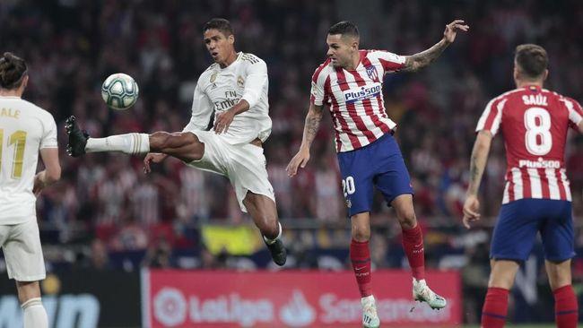 Hasil Liga Spanyol Atletico Madrid Vs Real Madrid Imbang