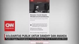 VIDEO: Dukungan Publik Untuk Dandhy dan Ananda