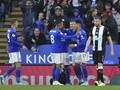 Hasil Liga Inggris: Leicester City Lumat Newcastle 5-0