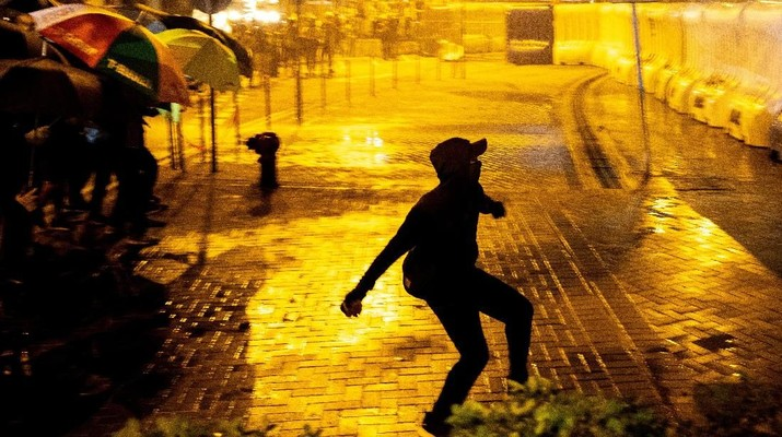 Demo Hong Kong Semakin Menjadi-jadi Jelang Hut China ke-70