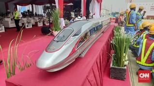 Tarif Tiket Kereta Cepat Jakarta-Bandung Dipatok Rp300 Ribu