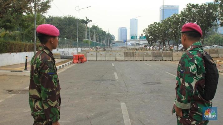 Elemen mahasiswa yang tergabung dalam Aliansi Mahasiswa Indonesia akan kembali menggelar demonstrasi di depan Gedung DPR/MPR/DPD.