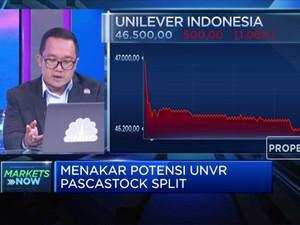 Ada Kabar Stock Split, Saham UNVR Malah Terkoreksi