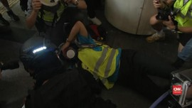 VIDEO: Jurnalis WNI Tersambar Peluru Karet Polisi Hong Kong