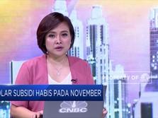 Jatah Solar Subsidi Habis Per November