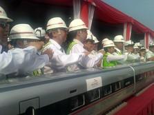 Top! Kereta Cepat Nyambung dengan LRT Jabodebek dan Bandara