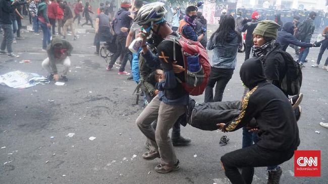 Demo Mahasiswa Bandung, 433 Dievakuasi dan 38 Dirujuk ke RS