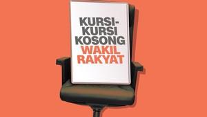 Kursi-kursi Kosong Wakil Rakyat