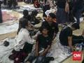 Demo di DPRD Jabar Ricuh, 186 Mahasiswa Terluka