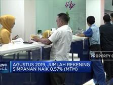Agustus 2019, Jumlah Simpanan Capai 292 Juta Rekening