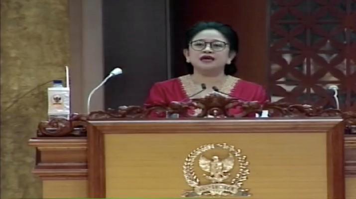Ketua DPR RI Puan Maharani (TV Parlemen)