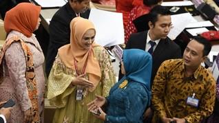 Dilantik Jadi Anggota DPR RI, Mulan Jameela Pakai 'Baju Bodo'
